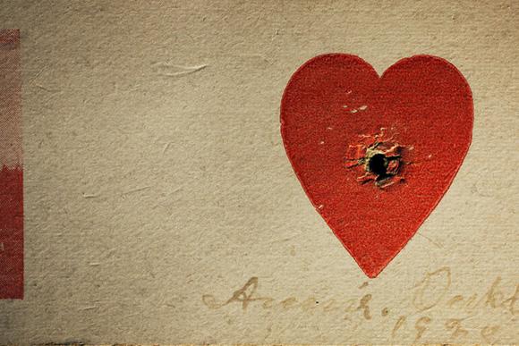 Annie-Oakleys-Heart-Target