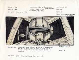 story board star wars