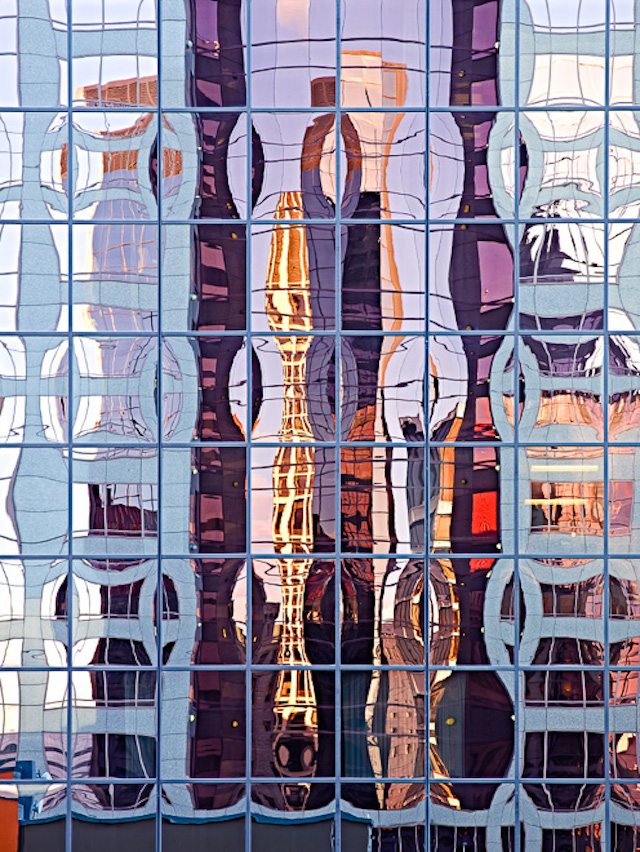 Portland, Architecture, reflections, building reflections