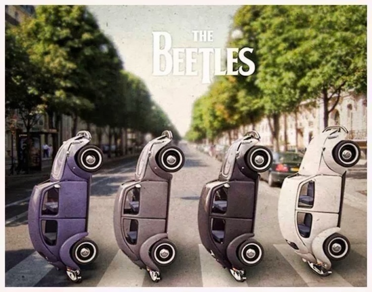 The Beatles Volkswagons Abbey Road