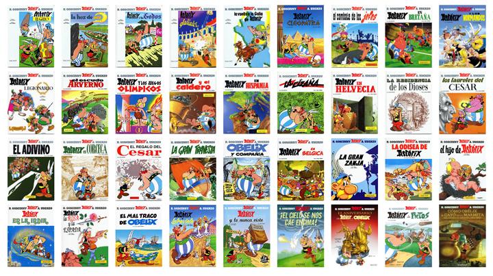 libros asterix